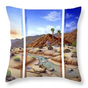 Desert Vista Large Throw Pillow