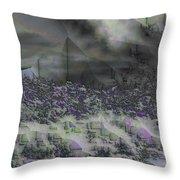 Desert Winds Throw Pillow