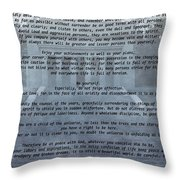 Desiderata Stairs Throw Pillow