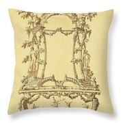 Design For A Console Table Throw Pillow