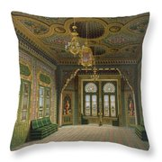 Design For A Reception Room Throw Pillow