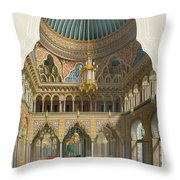 Design For The Entrance Hall Throw Pillow