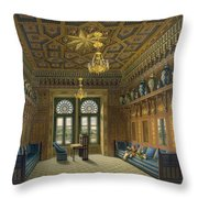 Design For The Grand Reception Room Throw Pillow