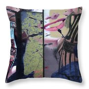 Designer Imperfections  Throw Pillow