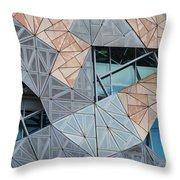 Designer Windows Throw Pillow