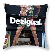 Desigual Storefront Throw Pillow