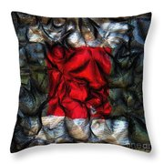 Desire Squared Throw Pillow
