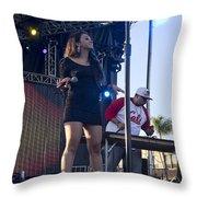 Desiree Estrada Throw Pillow