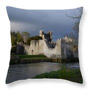Desmond Castle Throw Pillow