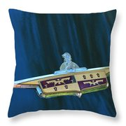 Desoto Emblem Throw Pillow