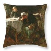 Despair, 1881 Throw Pillow