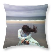 Desperation Throw Pillow
