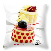 Desserts Throw Pillow