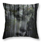 Destination Uncertain Throw Pillow