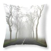 Destination Unknown Throw Pillow
