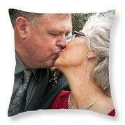 Destination Wedding-m And D-2 Throw Pillow