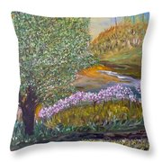 Destiny Garden Throw Pillow