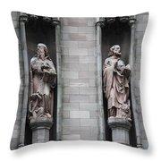 Detail First Trinity Church Throw Pillow