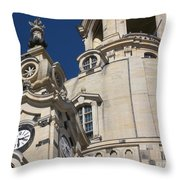 Detail Frauenkirche Dresden Throw Pillow