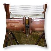 Detail Of Bumper Throw Pillow