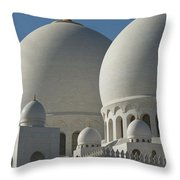 Detail Of The Domed Roof Of The Sheikh Throw Pillow