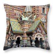 Detail Resurrection Church Throw Pillow