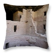 Detail Spruce Tree House Throw Pillow