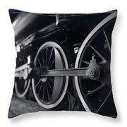 Detail Steam Engine Throw Pillow