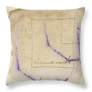 Detail With Purple Throw Pillow