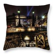 Detailed Bridge Throw Pillow