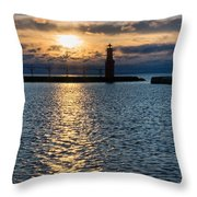 Determined Presence Throw Pillow
