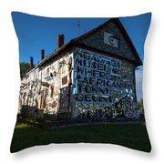 Detroit Africa Town - African Bead Museum #1 Throw Pillow