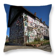 Detroit Africa Town - African Bead Museum #2 Throw Pillow