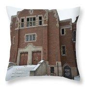 Detroit Child Care Throw Pillow