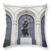 Detroit Institute Of Art Throw Pillow