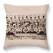 Detroit Tigers 1913 Throw Pillow