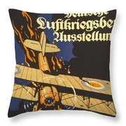 Deutsche Luftkriegsbeute Ausstellung Throw Pillow