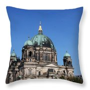Deutscher Dom Throw Pillow