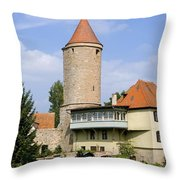 Deutschland, Bayern, Franken Throw Pillow by Tips Images