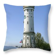 Deutschland, Bayern, Lindau Am Throw Pillow by Tips Images