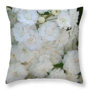 Deutzia Pure And Simple Throw Pillow