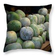 Devaraja Market India Mysore Throw Pillow