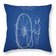 Device For Teaching Obstetrics And Midwifery Patent From 1951 - Bl Throw Pillow