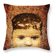 Devil Child Throw Pillow