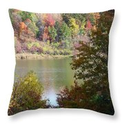 Devils Bathtub Throw Pillow