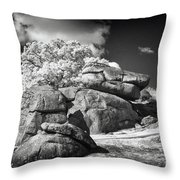 Devils Den - Gettysburg Throw Pillow by Paul W Faust -  Impressions of Light