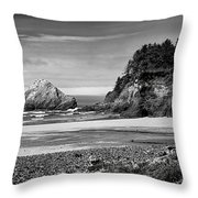 Devil's Elbow Beach Throw Pillow