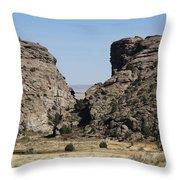 Devil's Gate - Wyoming Throw Pillow