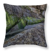 Devil's Punchbowl Trail Throw Pillow