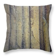Devil's Tower Climbers Throw Pillow